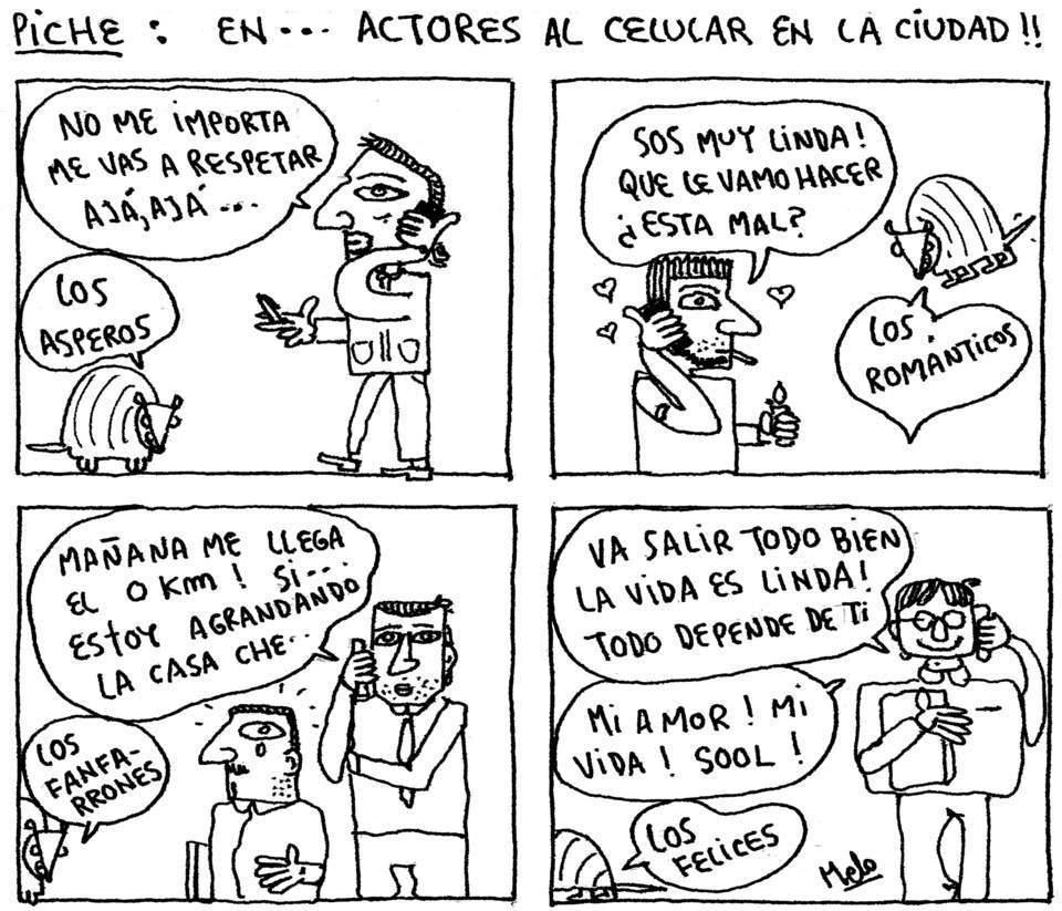 ACTORES AL CELU 40