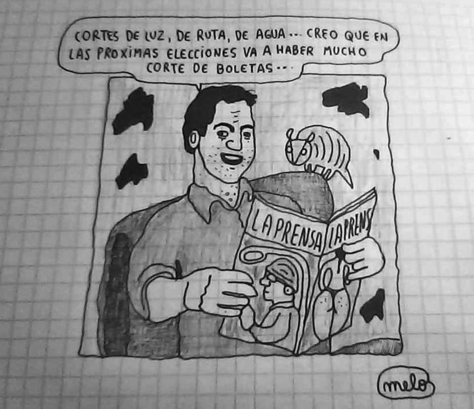 CORTE DE BOLETAS