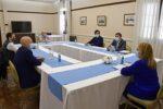 Alicia Kirchner luego del resultado electoral se reunió con intendentes del FdT